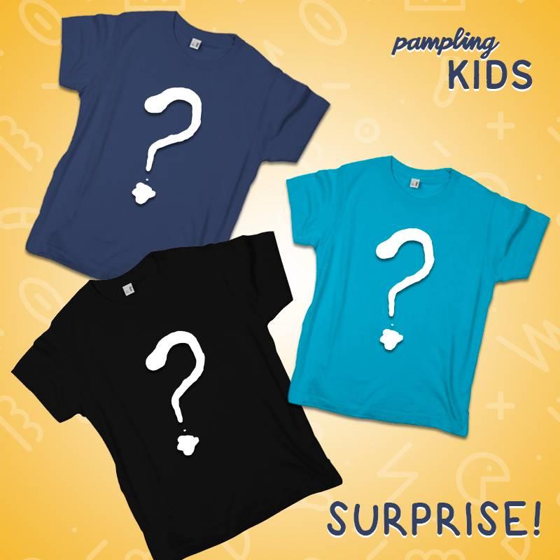 Camisetas de pamping para niños 3x15€