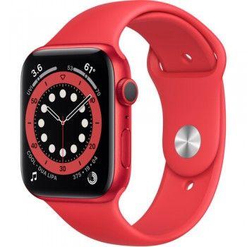 Apple Watch Series 6 GPS - 44mm color rojo