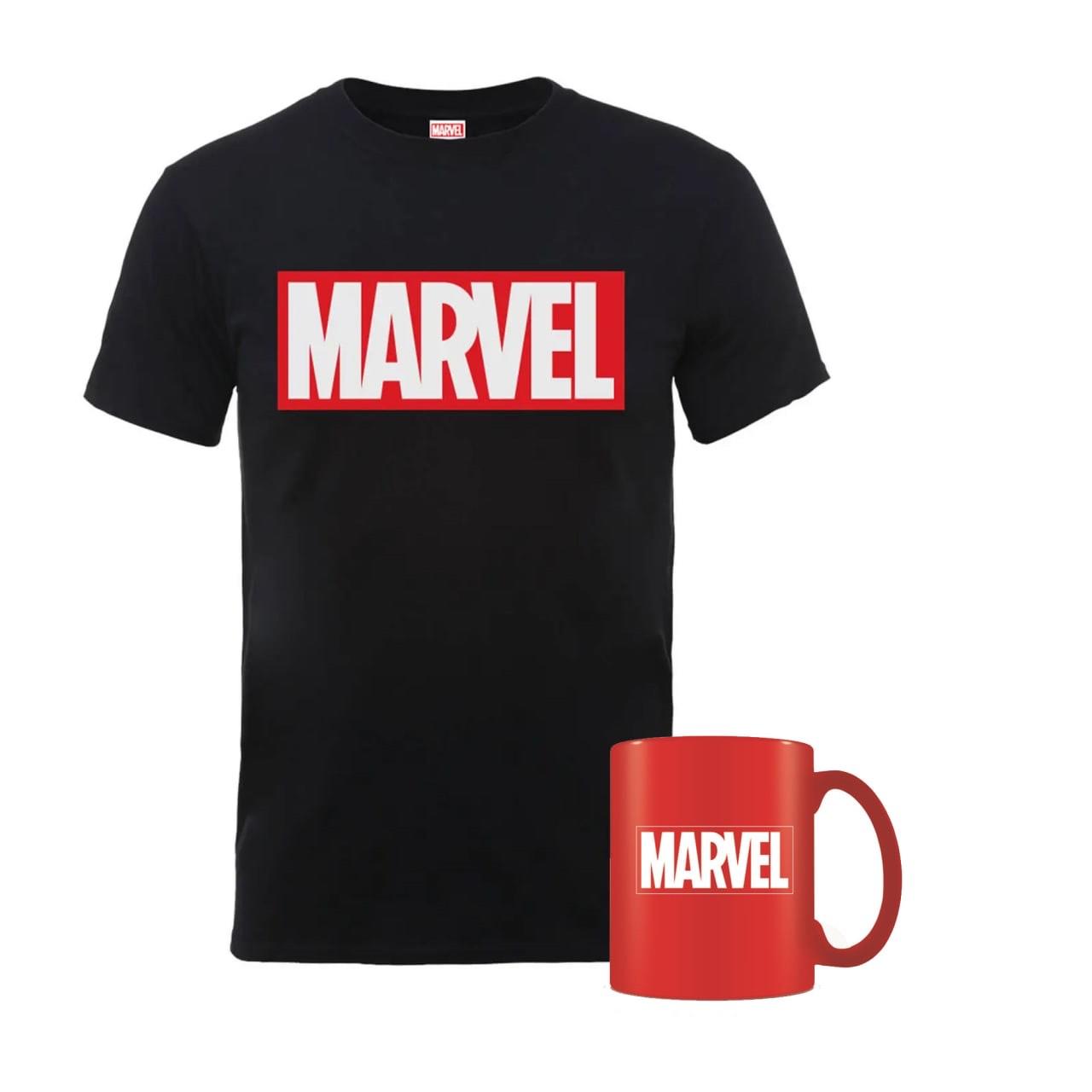 Camiseta + Taza Marvel por solo 9,99€
