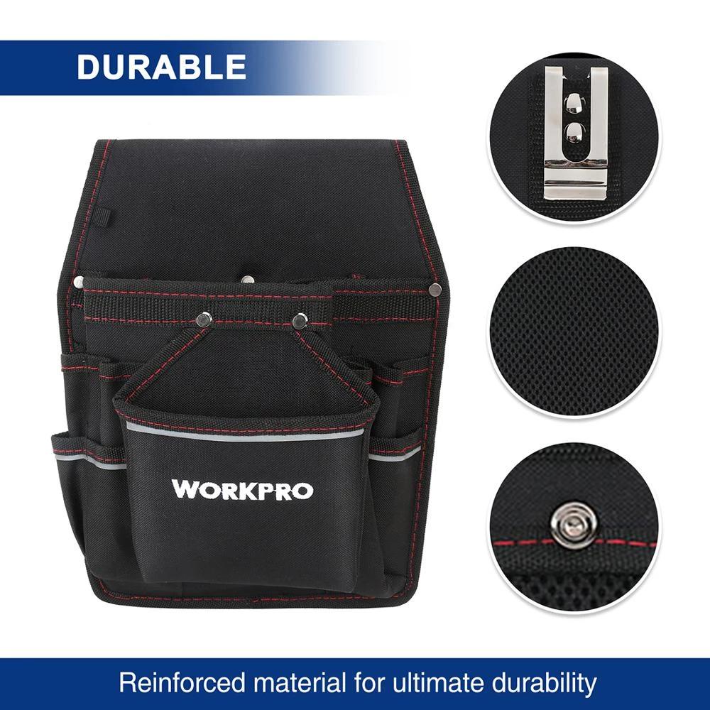 WORKPRO-Cinturón para electricista, kit de soporte