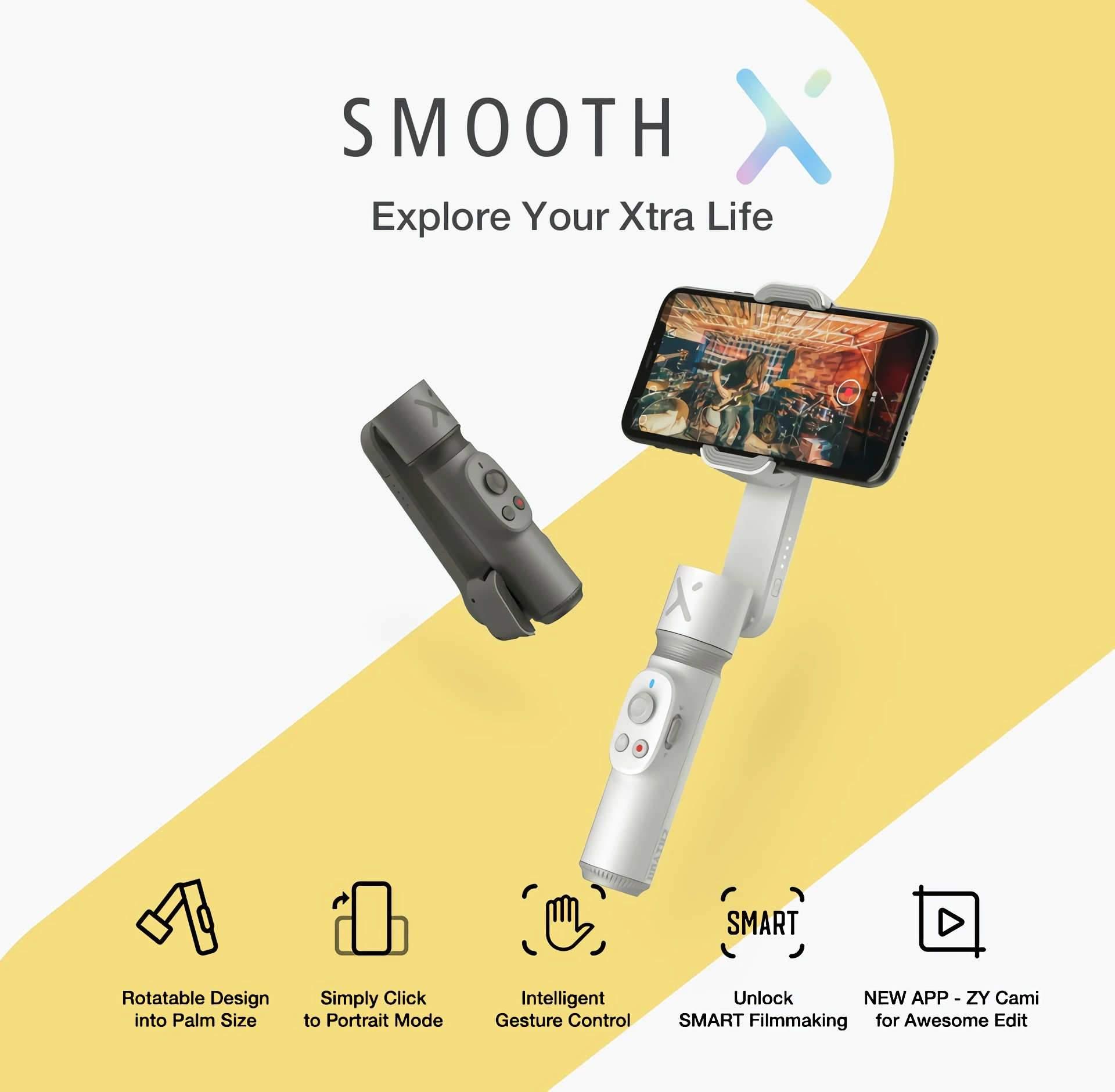 Smooth X estabilizador para celular