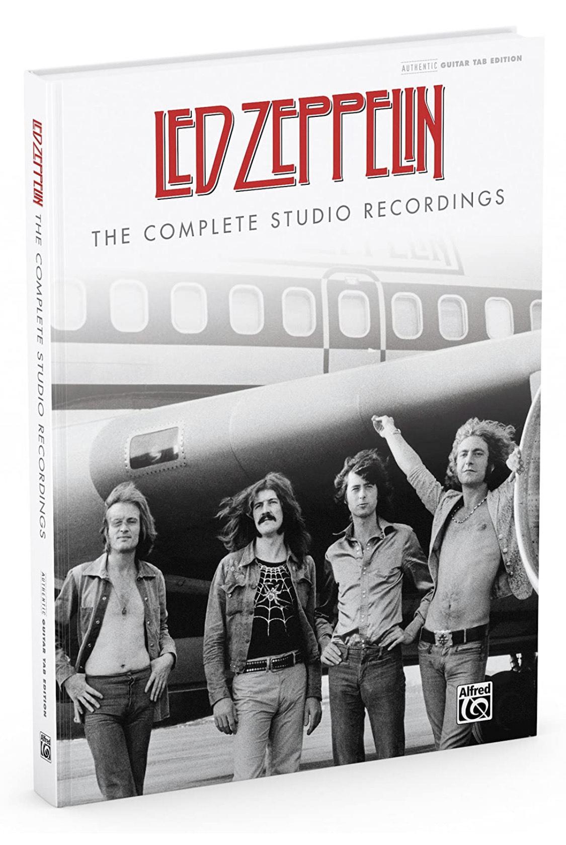 Led Zeppelin Complete Studio Guitar Tab