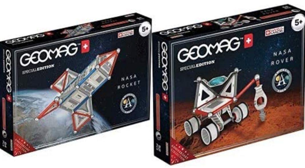 Geomag Special Edition Rover NASA + Special Edition Raqueta NASA