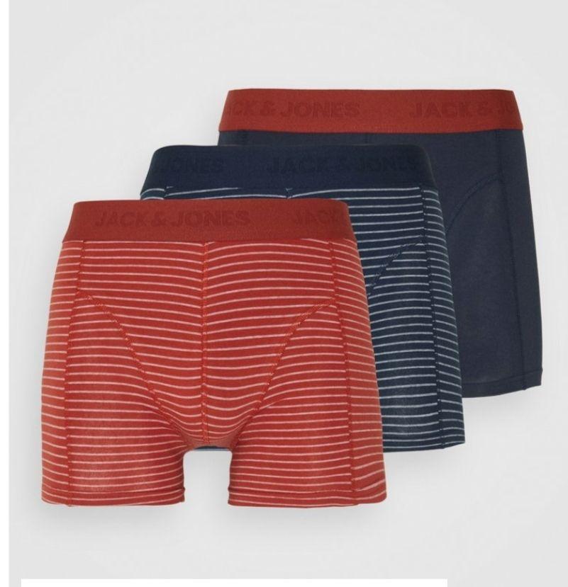 Pack de tres calzoncillos algodón Jack and Jones. Todas las tallas (otros colores en descripción)