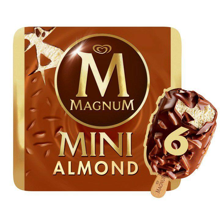 Magnum Mini Almendras Pack de 6 Unidades CONSUM