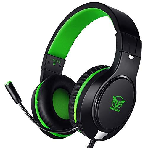 Cascos con microfono para PS4 Xbox One Nintendo Switch y pc