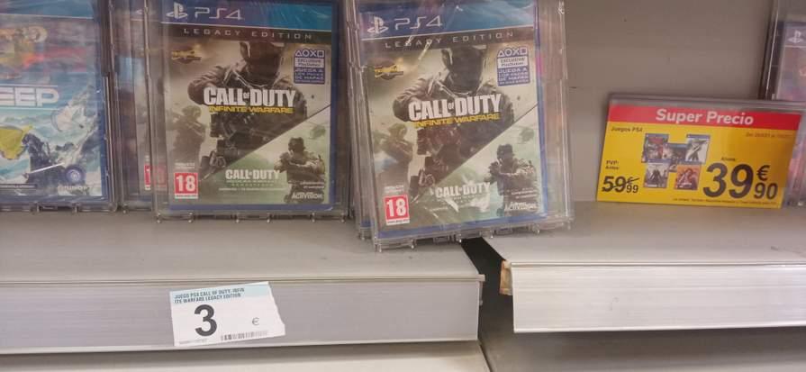 Call of Duty Legacy Edition Carrefour de Écija