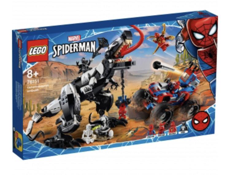 LEGO Super Heroes - Emboscada del Venomosaurio