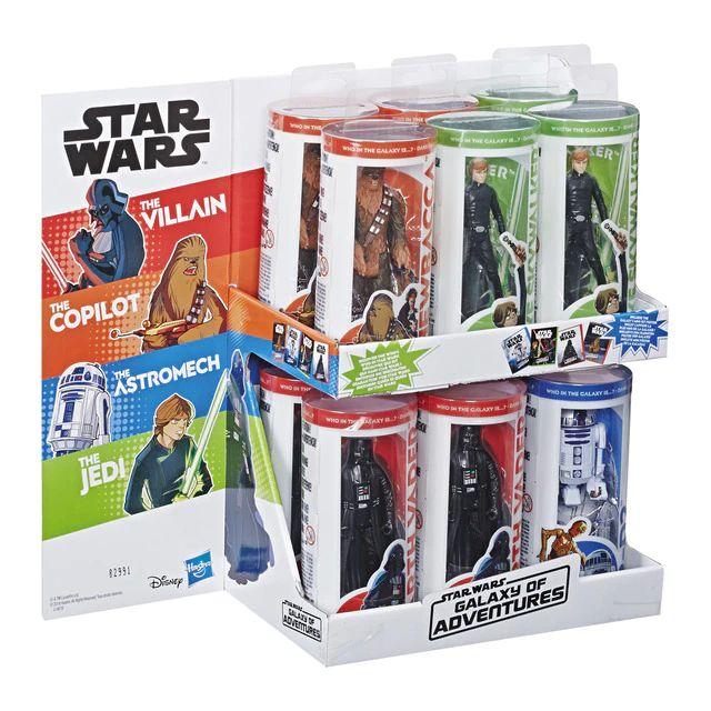 HASBRO Figura Galaxy of Adventures Star Wars
