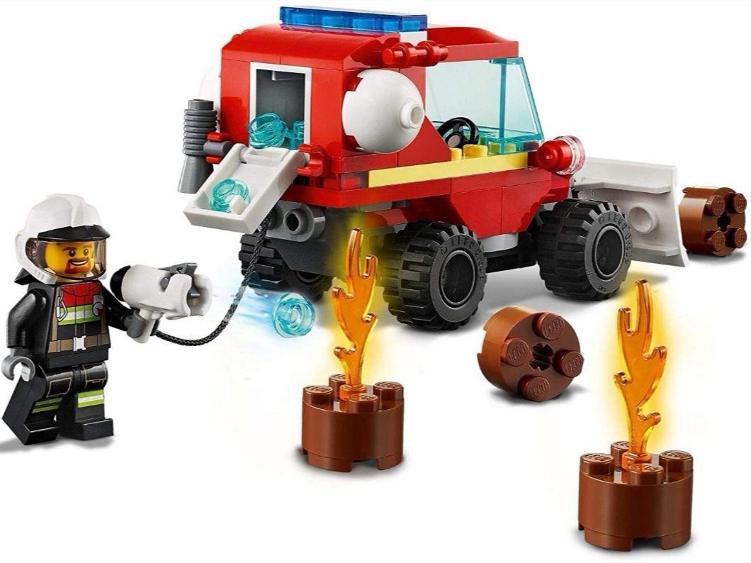 LEGO CITY Furgoneta de Asistencia de Bomberos + Figura [Tb Carrefour]