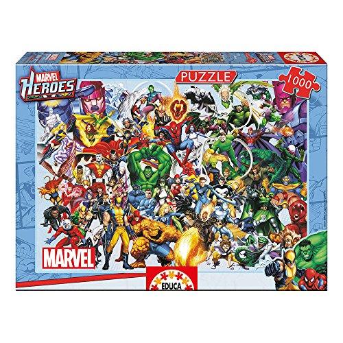 Puzzle heroes de Marvel 1000 piezas