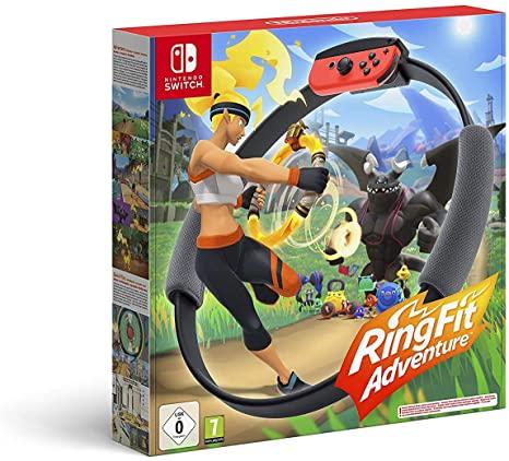 Nintendo Switch Ring Fit Adventure por 57€