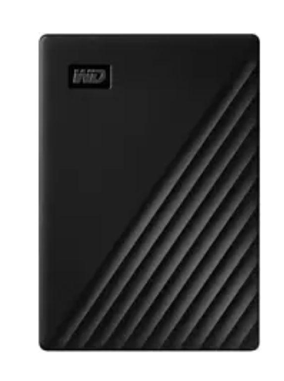 Disco duro portátil 5 TB - WD My Passport, Negro, USB 3.2