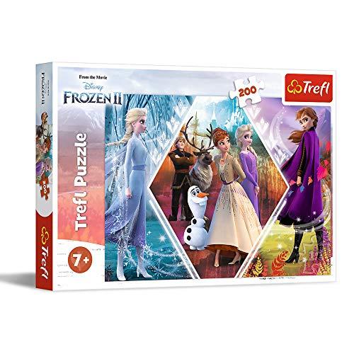 Puzzle Frozen 200 piezas