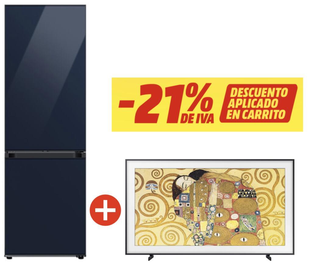 Frigorífico + Televisor Samsung de regalo