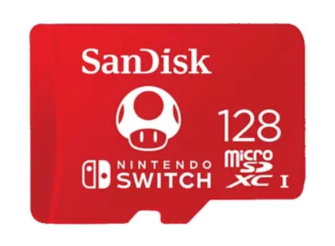 Tarjeta micro SDXC - SanDisk Extreme Nintendo Switch, 128 GB