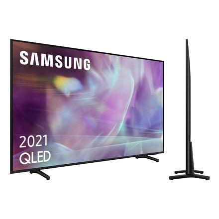 "TV QLED 43"" - Samsung QE43Q60AAUXXC, UHD 4K, Smart TV, HDR10+, Tizen, Motion Xcelerator, Control de voz, Negro"