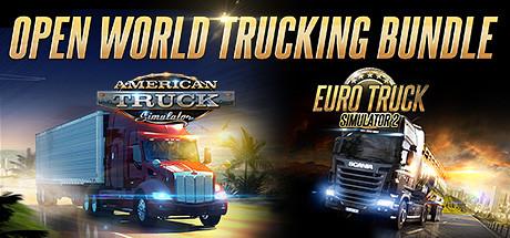(STEAM) Paquete Euro Truck Simulator 2 y American Truck Simulator