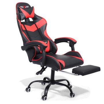 Silla Gaming con reposapiés Douxlife® Racing