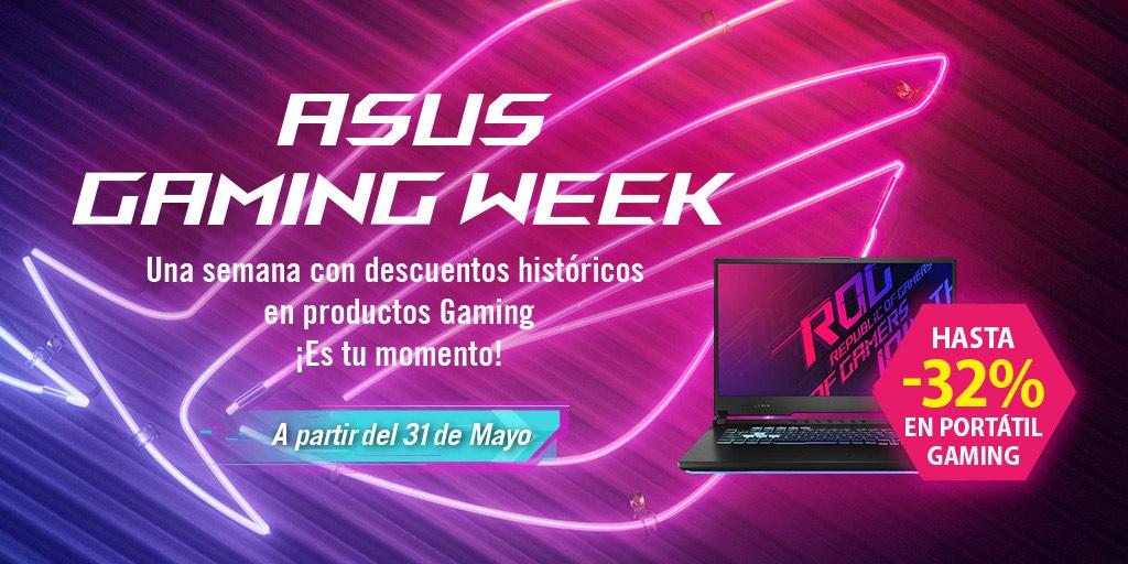 Asus Gaming Week | Ahorra hasta 1000€