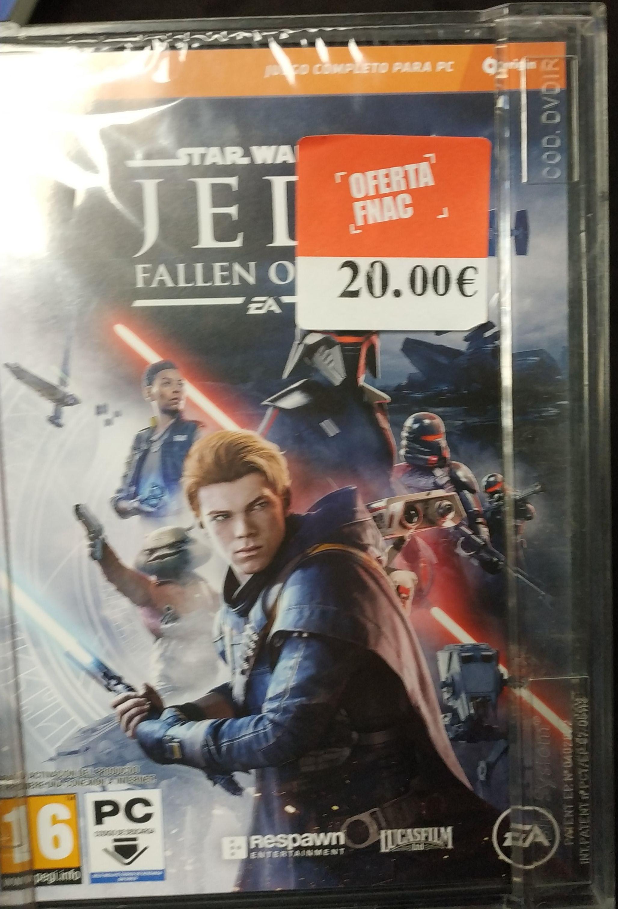 Star Wars Jedi fallen order * Fnac marbella*
