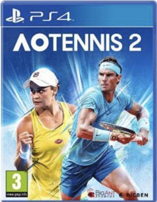 AO Tennis 2 - PS4 & PS5