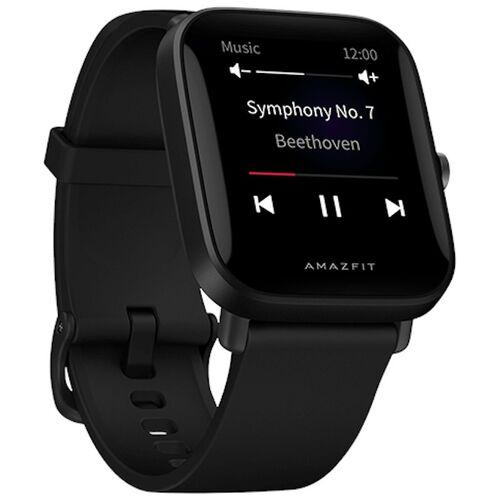 """AMAZFIT Smartwatch - Amazfit Bip U Pro, 20 mm, 1.43"""" TFT, Resistente al agua, BT 5.0, GPS, Autonomía 9 días, Negro"""