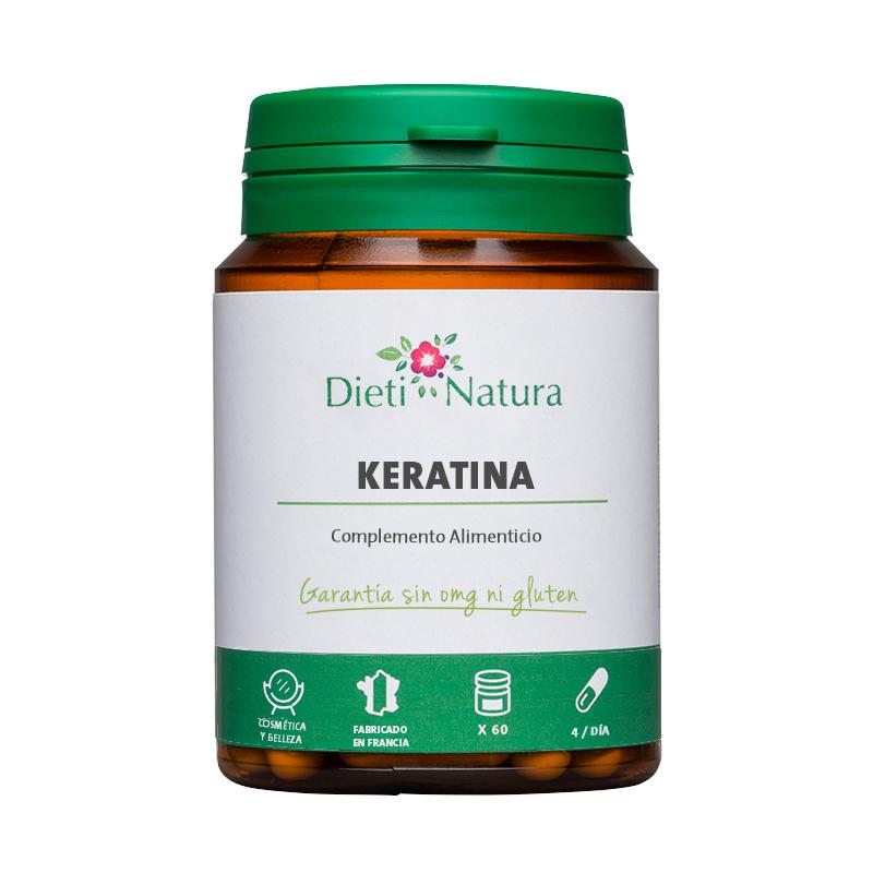 60 cápsulas de Keratina solo 8.9€