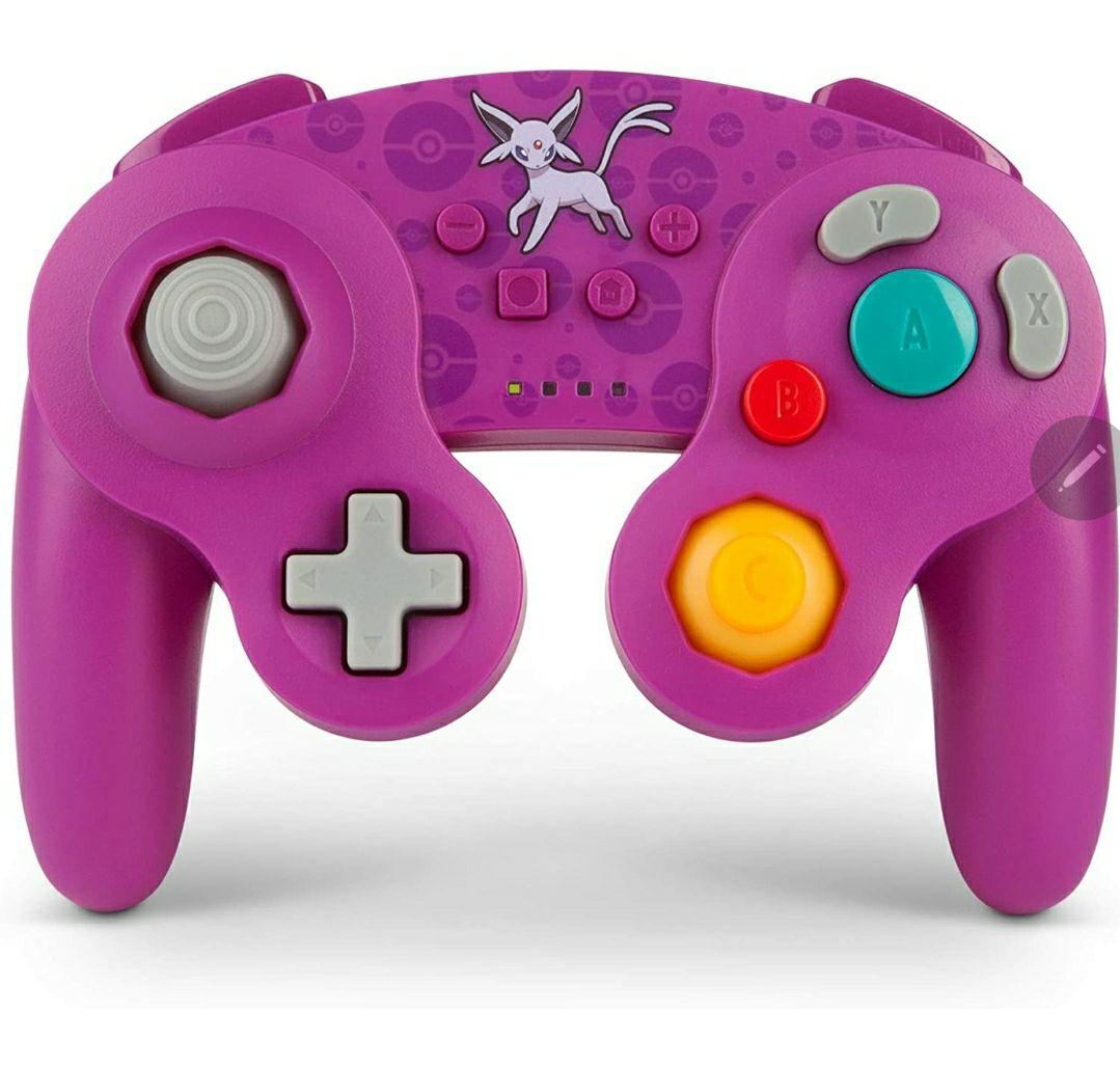 Mando inalámbrico para Nintendo SwitchEstilo GameCube:pokemon Espeon
