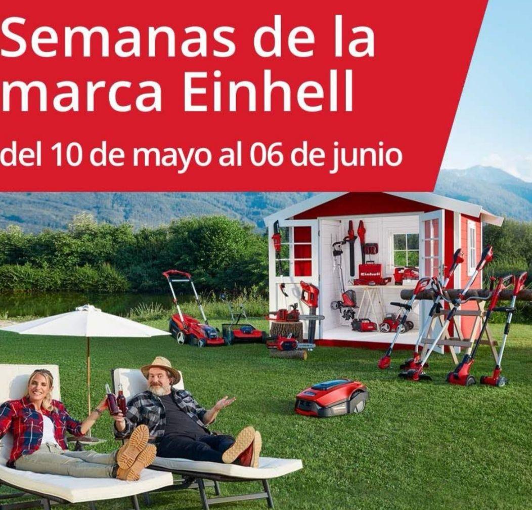 EINHELL - Compra 2 artículos seleccionados sin batería y llévate un Starter Kit GRATIS