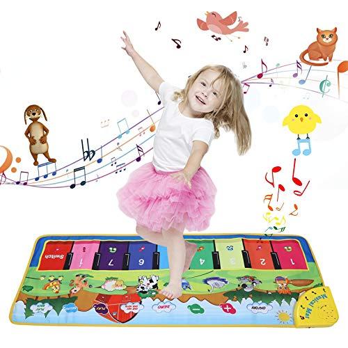 Alfombra de piano para niños.