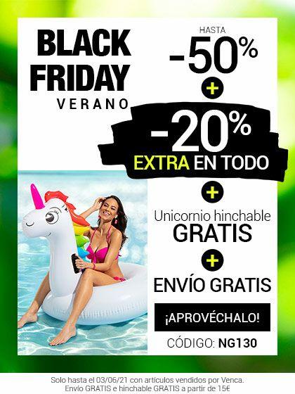 Venca - 50% + 20% Extra + unicornio hinchable + Envío gratis