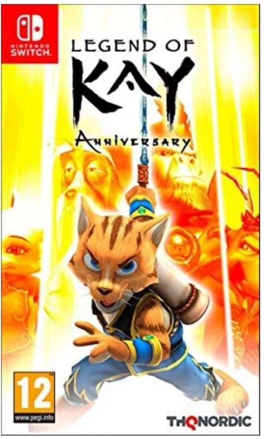 Legend Of Kay: Anniversary Nintendo Switch