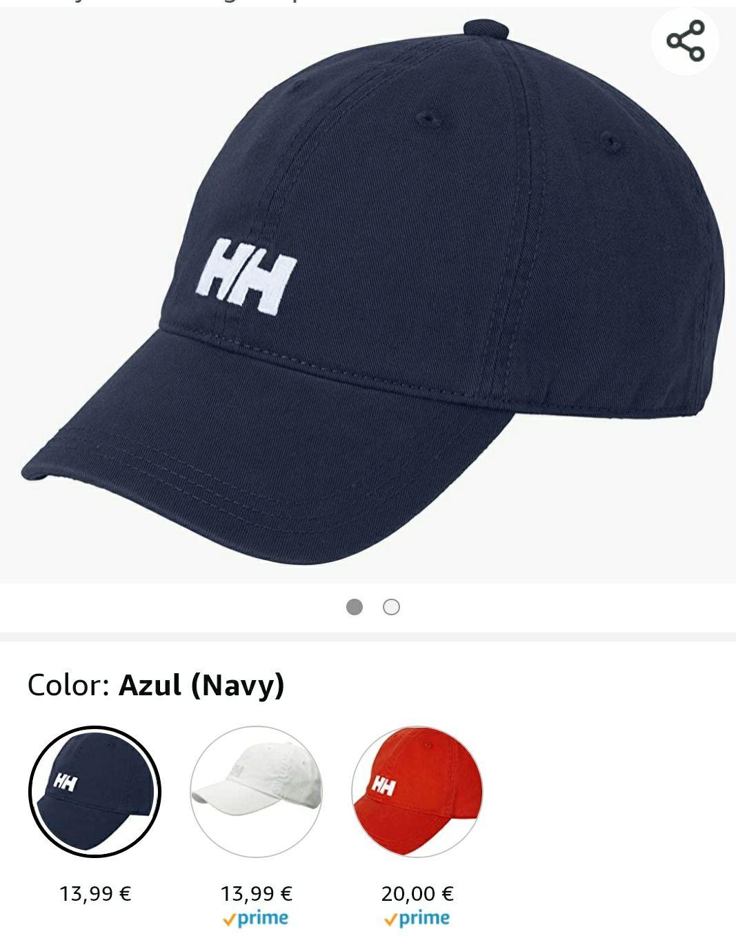 """Gorra Helly Hansen 2 Colores """"Mirar Descripción"""""""