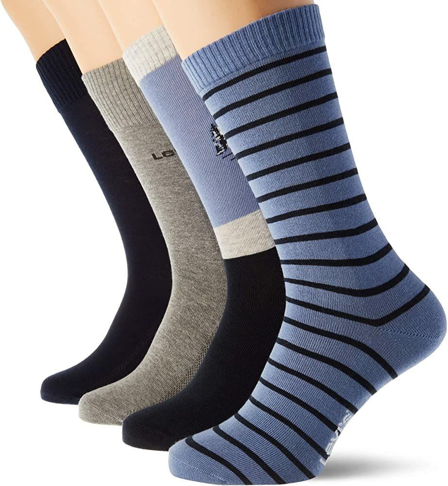 Pack de 4 calcetines levi's (combo blue)