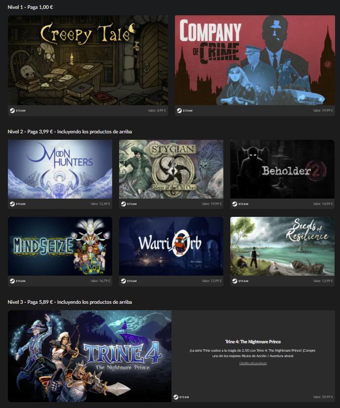 Guardian Bundle 2 - 9 Juegos Steam [2x1€, 5x3.99€ y 9x5.89€]