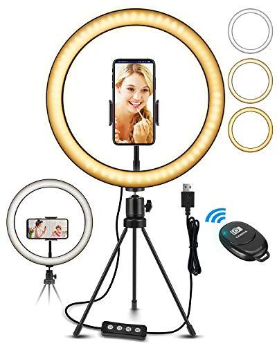 Aro de Luz LED con Soporte para Teléfono por solo 7,99€