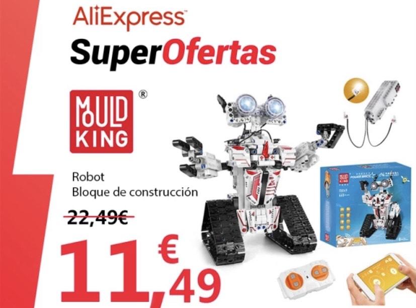 Robot RC Inteligente Mould King