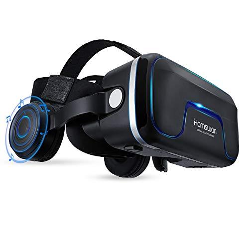 Casco VR, vista panorámica en 3D, calidad de imagen HD.