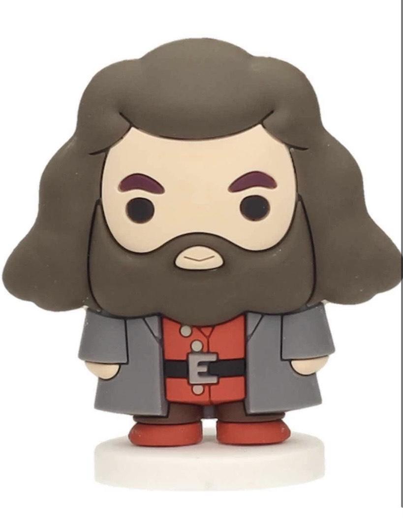 SD toys- Hagrid Mini Figura Goma Harry Potter,
