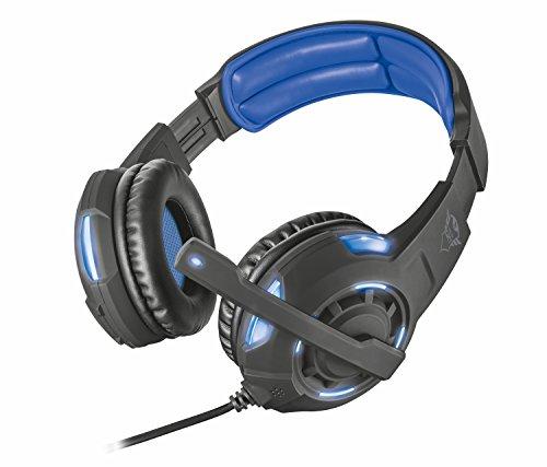 Trust GXT 350 Radius - Auriculares gaming con conexión USB, Surround 7.1, color negro