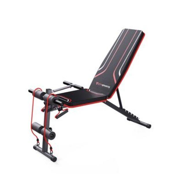 Banco fitness de pesas y ejercicios multifunciones