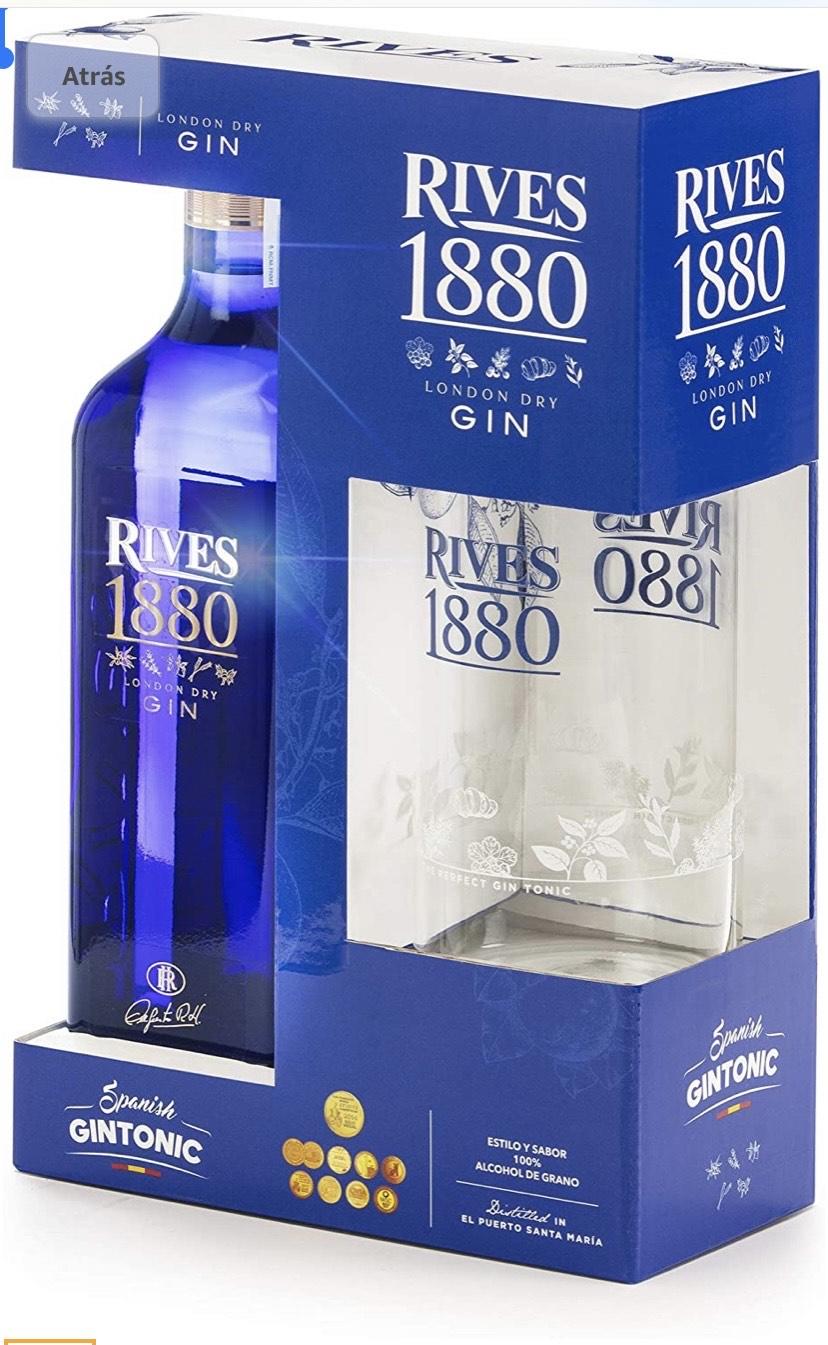 Estuche Rives Rives 1880 London Dry Gin 700ml