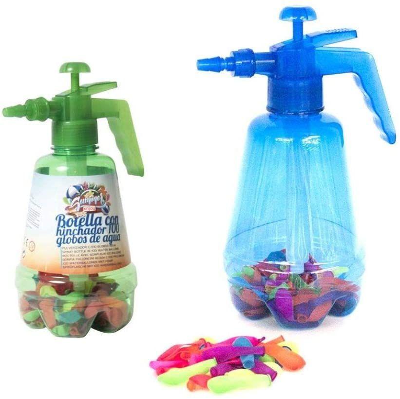 100 globos de agua + inflador