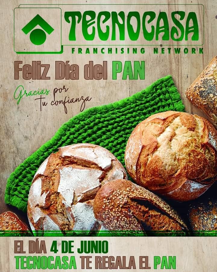 Pan gratis en Málaga 2021 el 4 de Junio de 2021