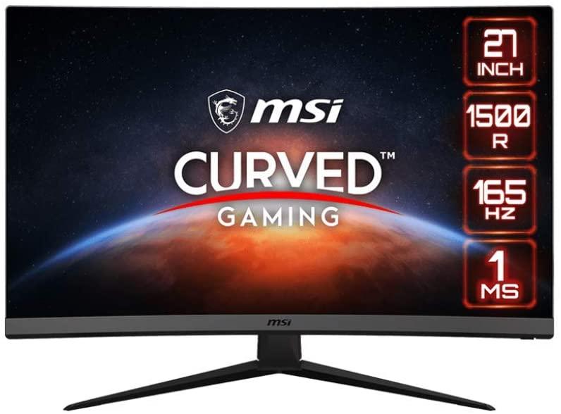 "Monitor MSI Optix 27 "" FHD, 1 ms, 165 Hz ,Curvo, FreeSync"