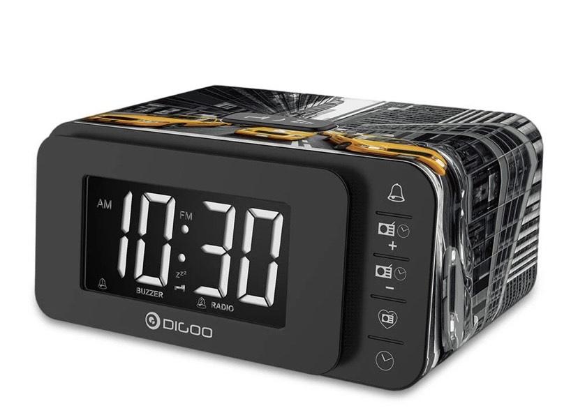 Despertador, altavoz y cargador Digoo DG-FR8888