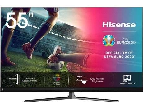 TV HISENSE 55U8QF (ULED Quantum Dot - 55'' - 140 cm - 4K Ultra HD - Smart TV)