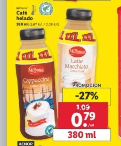 Cafés fríos XXL de Lidl