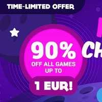 90% de descuento en TODOS los Juegos hasta 1€ [GAMIVO]